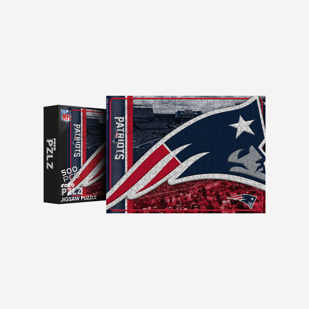 New England Patriots 500 Piece Jigsaw PZLZ FOCO - FOCO.com | UK & IRE