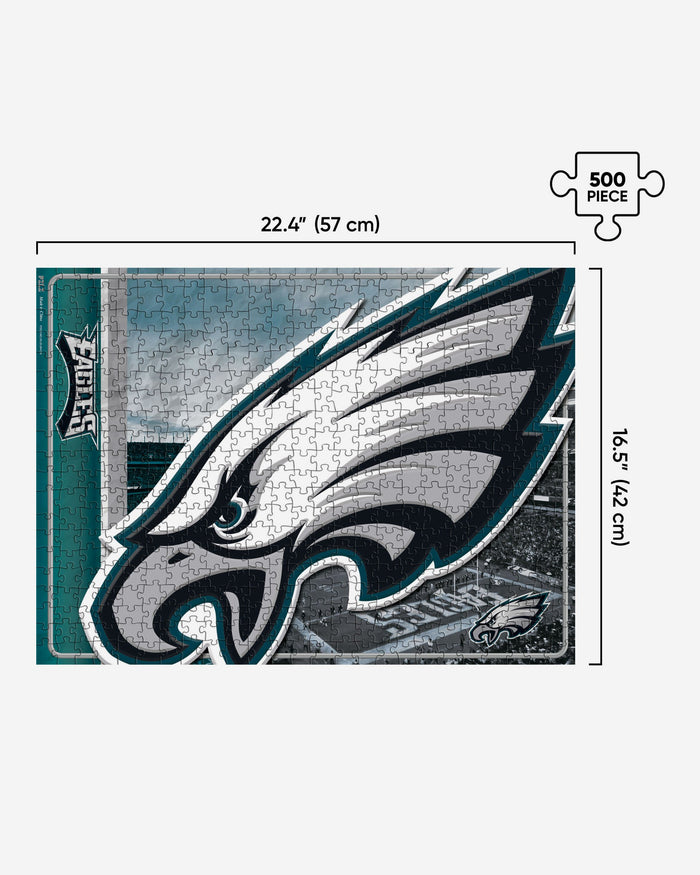 Philadelphia Eagles 500 Piece Jigsaw PZLZ FOCO - FOCO.com | UK & IRE