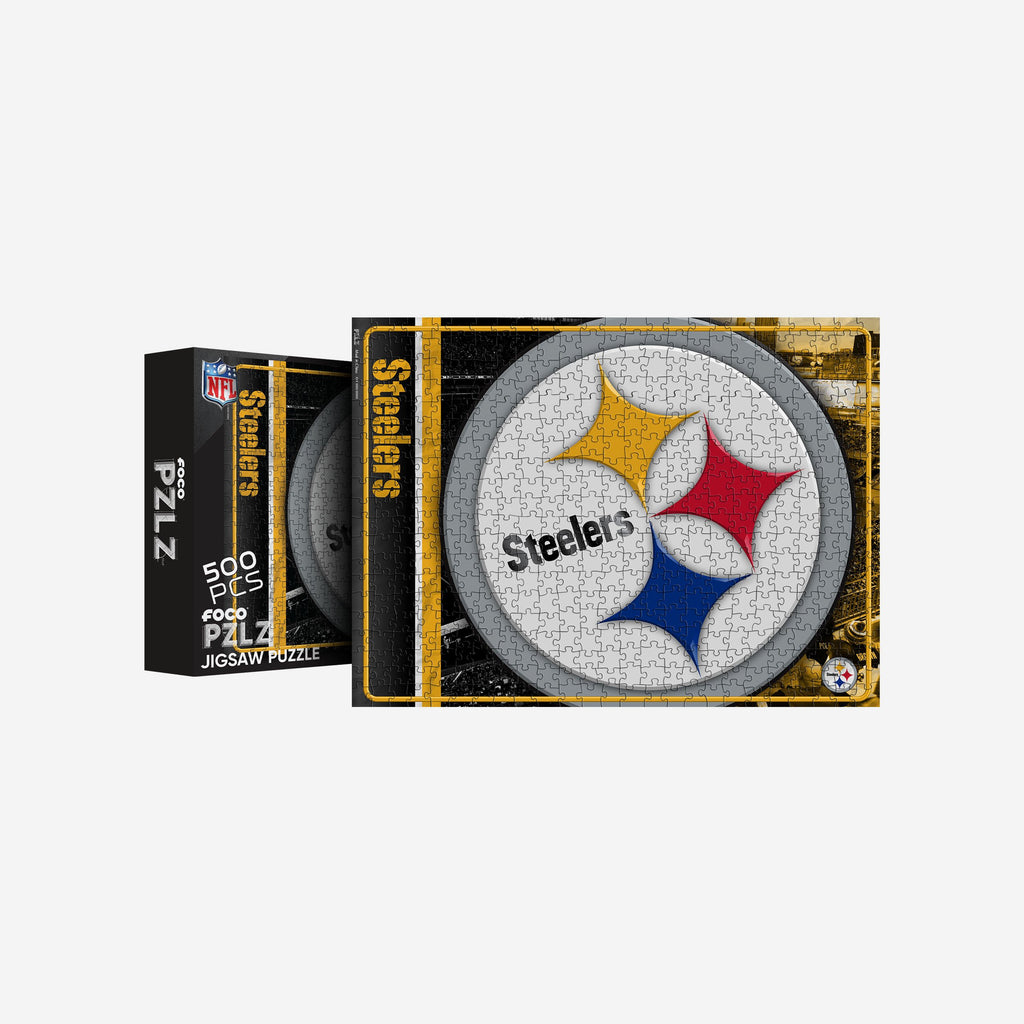 Pittsburgh Steelers 500 Piece Jigsaw PZLZ FOCO - FOCO.com | UK & IRE