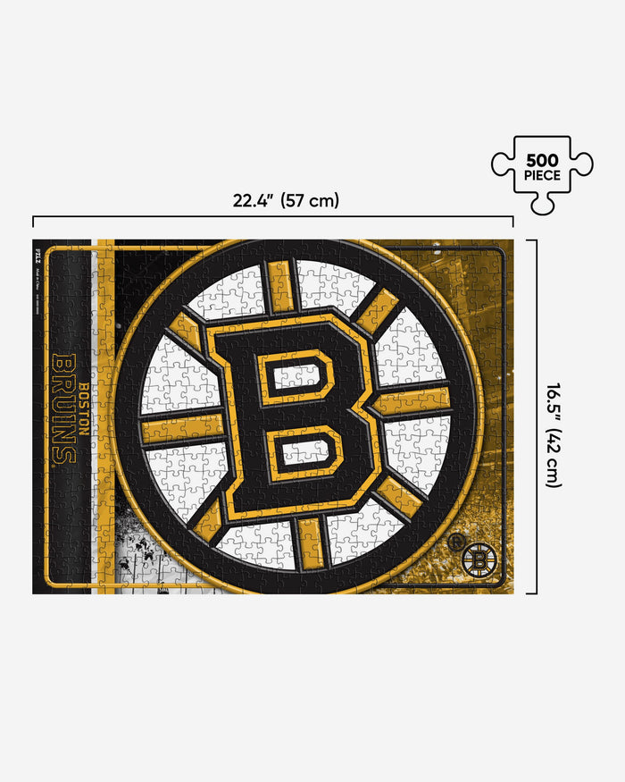 Boston Bruins 500 Piece Jigsaw PZLZ FOCO - FOCO.com | UK & IRE