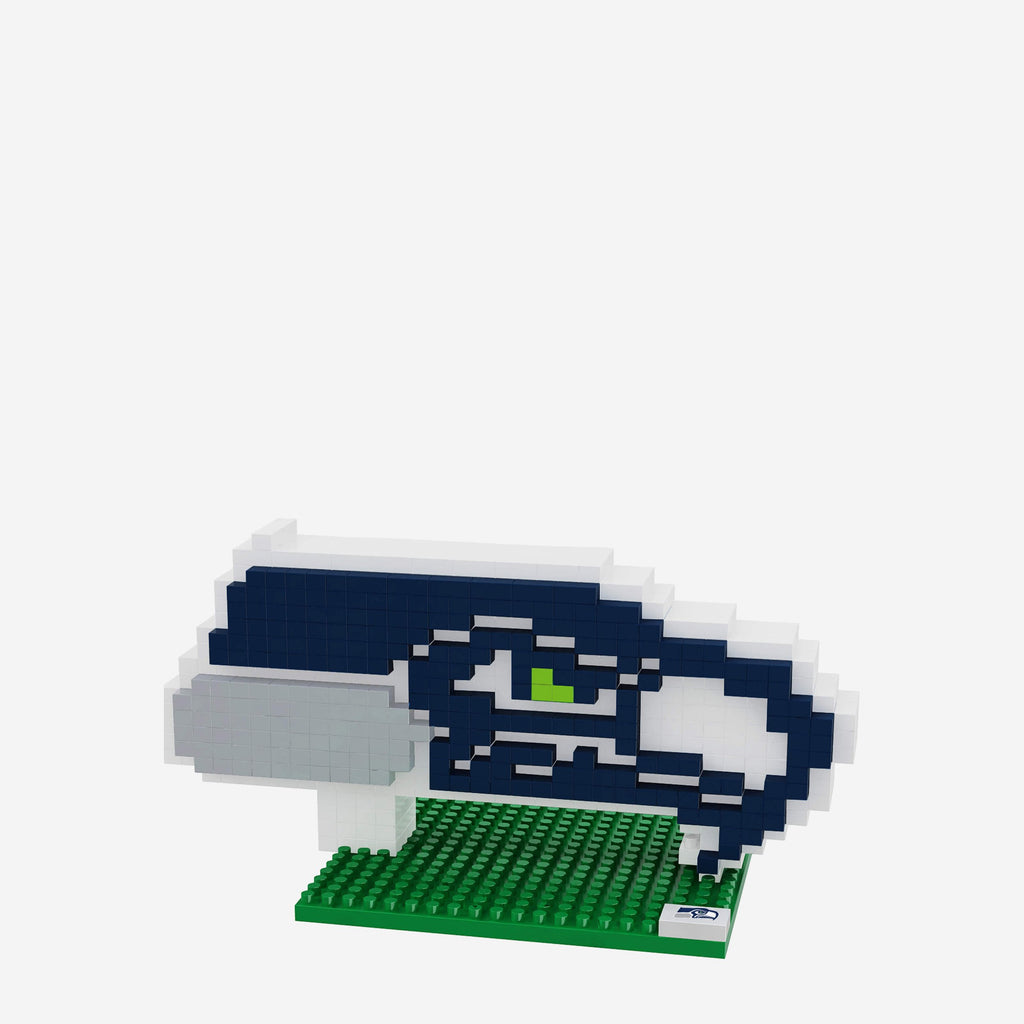 Seattle Seahawks BRXLZ Logo FOCO - FOCO.com | UK & IRE