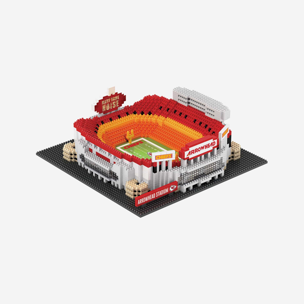 Kansas City Chiefs Arrowhead BRXLZ Stadium FOCO - FOCO.com | UK & IRE