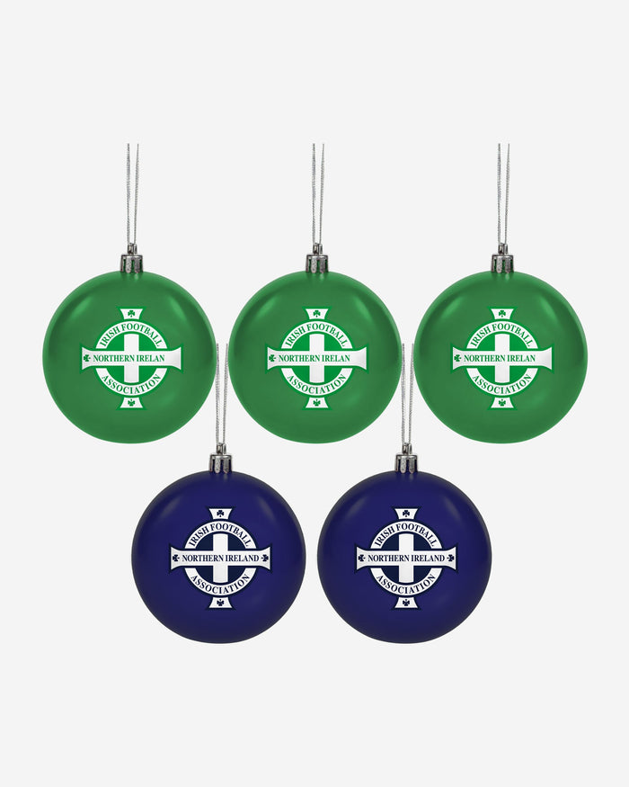 Northern Ireland 5 Pack Bauble Set FOCO - FOCO.com | UK & IRE