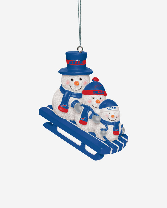 Buffalo Bills Sledding Snowmen Ornament FOCO - FOCO.com | UK & IRE