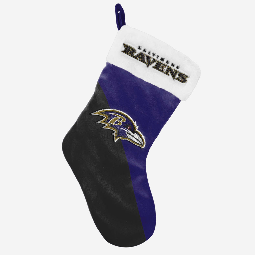Baltimore Ravens Christmas Stocking FOCO - FOCO.com | UK & IRE