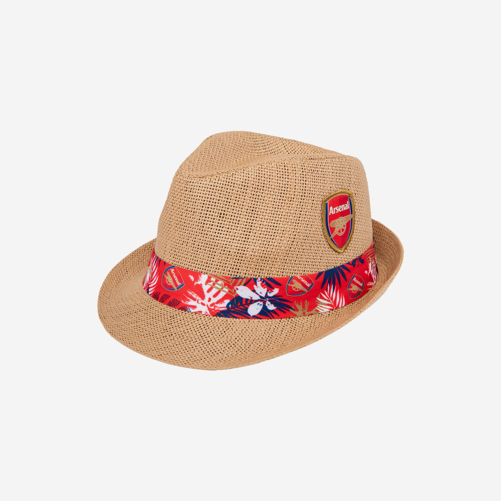 Arsenal FC Trilby Straw Hat FOCO - FOCO.com | UK & IRE