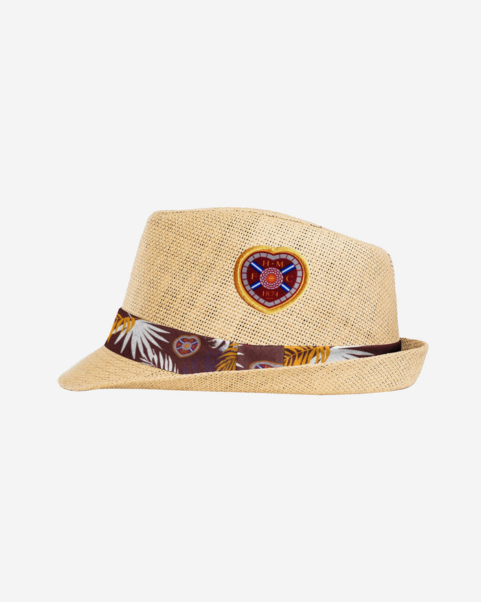 Heart Of Midlothian FC Trilby Straw Hat FOCO - FOCO.com | UK & IRE