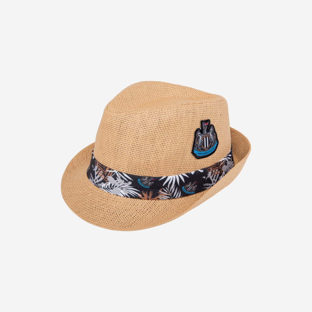 Newcastle United FC Trilby Straw Hat FOCO - FOCO.com | UK & IRE