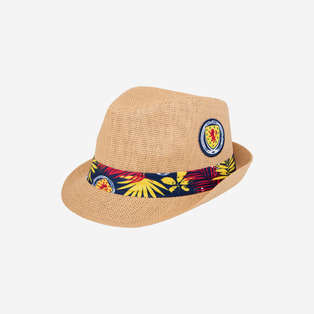Scotland Trilby Straw Hat FOCO - FOCO.com | UK & IRE