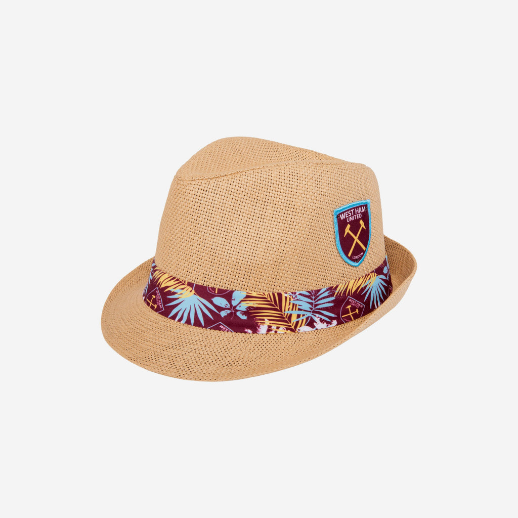 West Ham United FC Trilby Straw Hat FOCO - FOCO.com | UK & IRE
