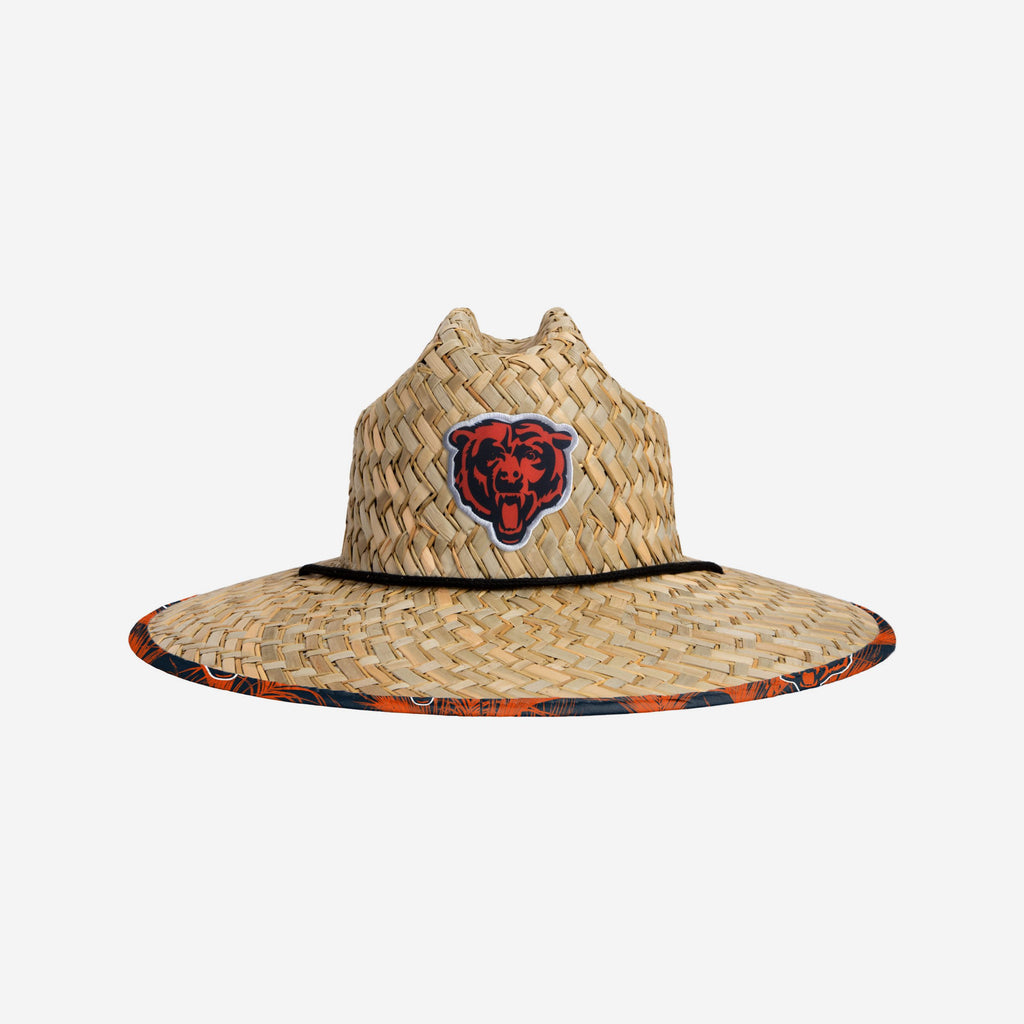 Chicago Bears Floral Straw Hat FOCO - FOCO.com | UK & IRE