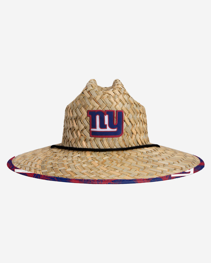 New York Giants Floral Straw Hat FOCO - FOCO.com | UK & IRE