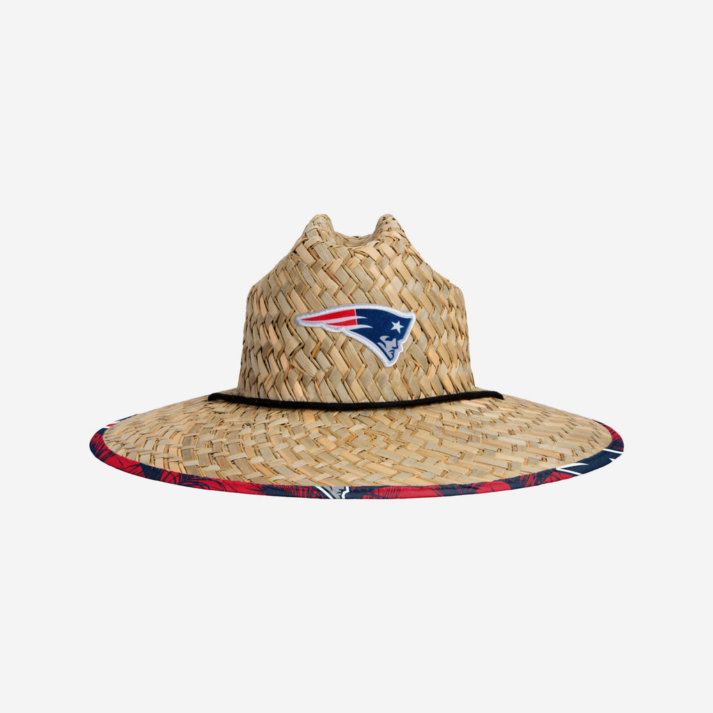 New England Patriots Floral Straw Hat FOCO - FOCO.com | UK & IRE