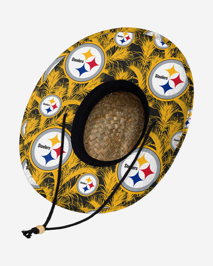 Pittsburgh Steelers Floral Straw Hat FOCO - FOCO.com | UK & IRE