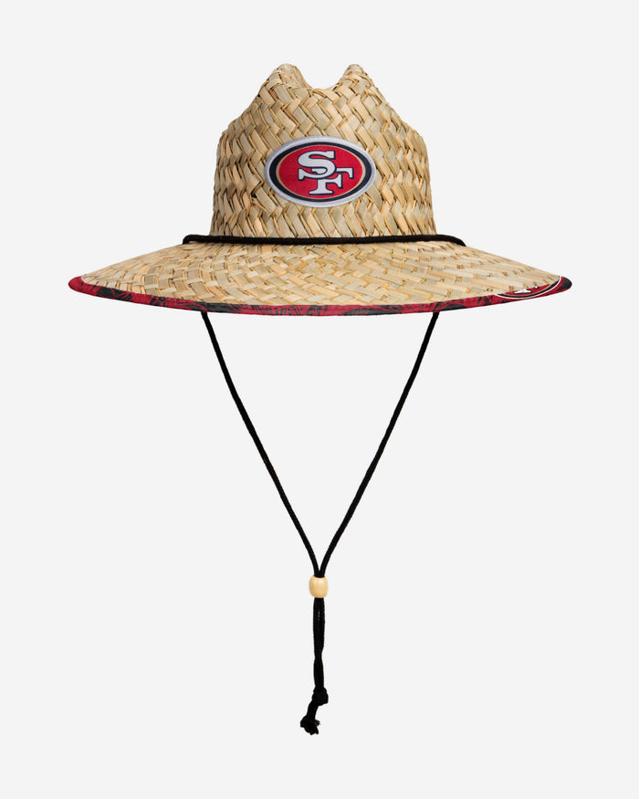 San Francisco 49ers Floral Straw Hat FOCO - FOCO.com | UK & IRE