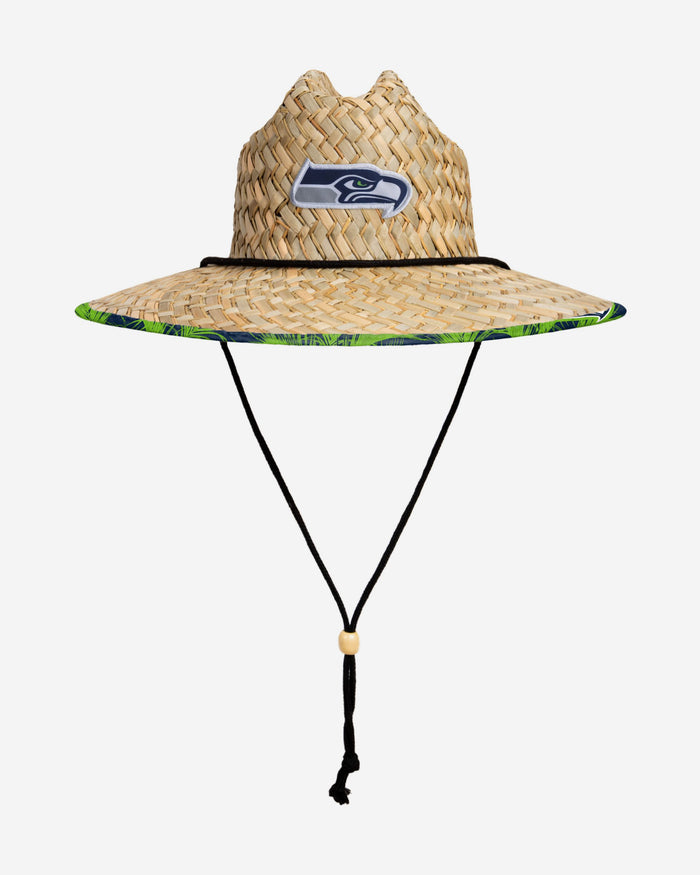 Seattle Seahawks Floral Straw Hat FOCO - FOCO.com | UK & IRE