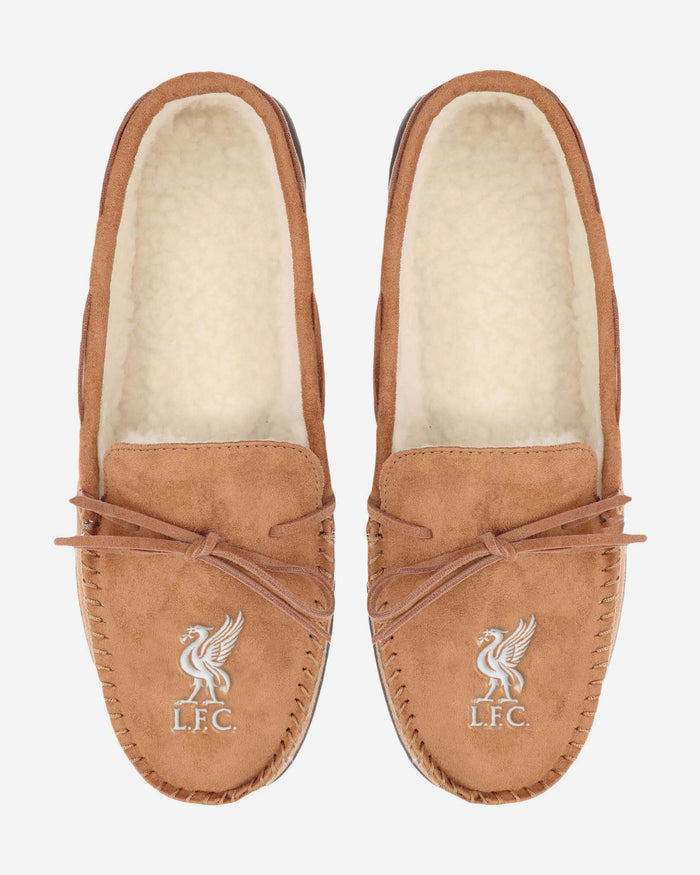 Liverpool FC Suede Moccasin Slipper FOCO - FOCO.com | UK & IRE