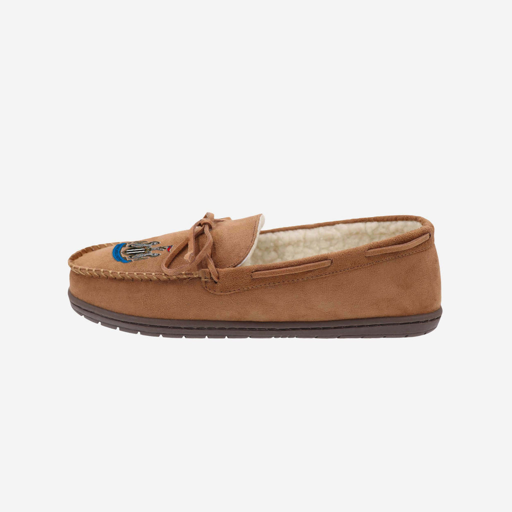Newcastle United FC Suede Moccasin Slipper FOCO S - FOCO.com | UK & IRE