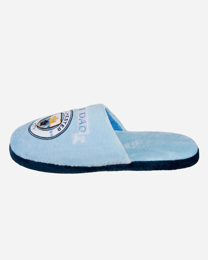 Manchester City FC Best Dad Slippers FOCO L - FOCO.com | UK & IRE
