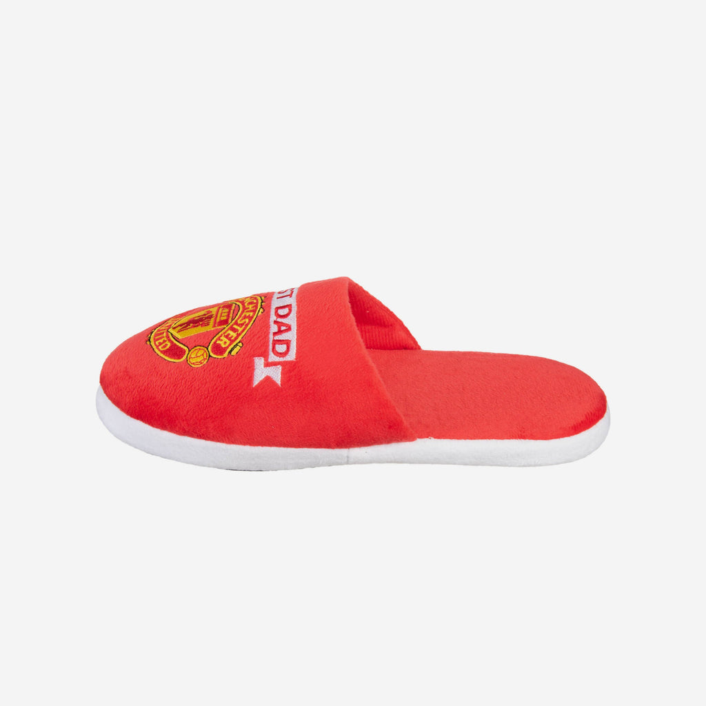 Manchester United FC Best Dad Slippers FOCO L - FOCO.com | UK & IRE