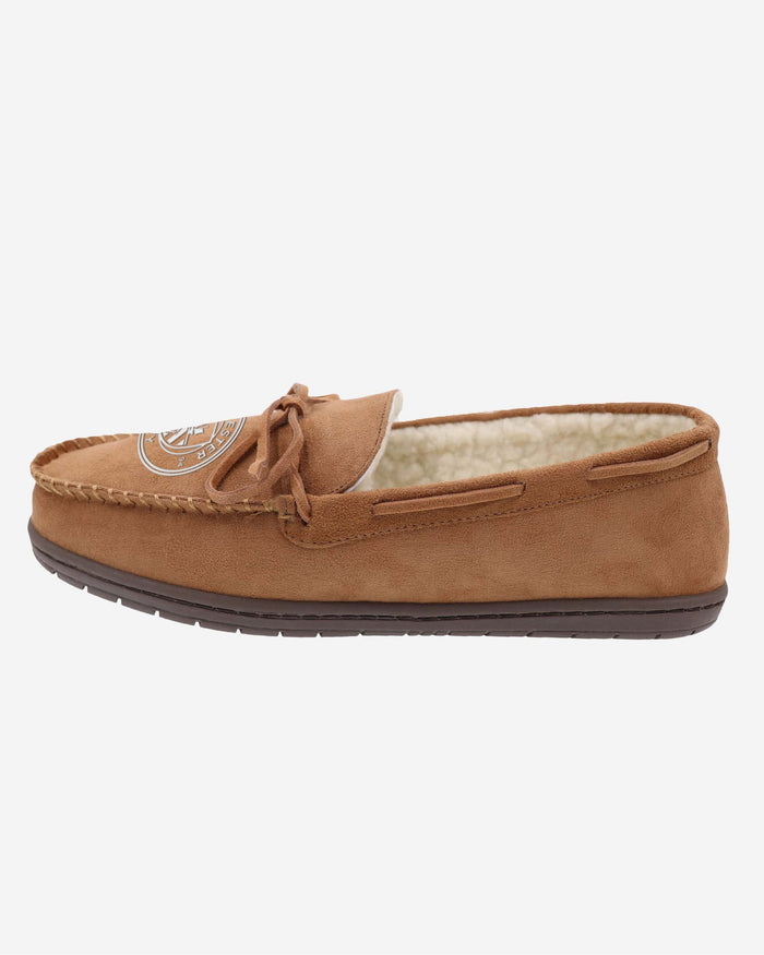Manchester City FC Suede Moccasin Slipper FOCO S - FOCO.com | UK & IRE