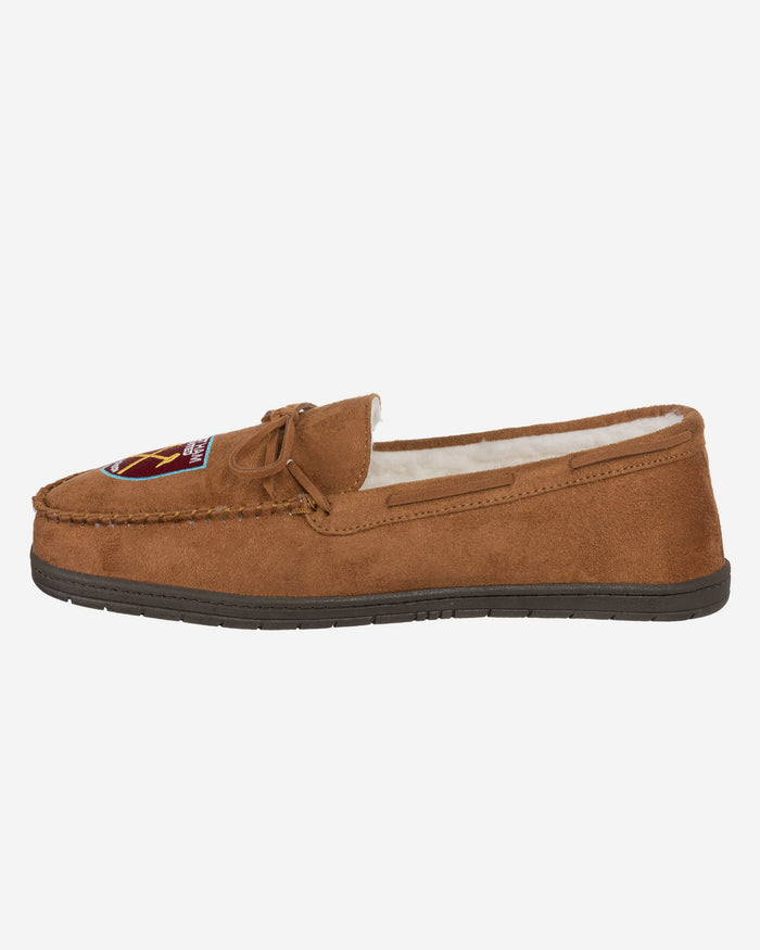 West Ham United FC Suede Moccasin Slipper FOCO S - FOCO.com | UK & IRE
