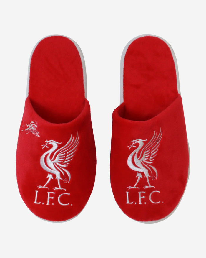 Liverpool FC Split Colour Slide Slipper FOCO - FOCO.com | UK & IRE