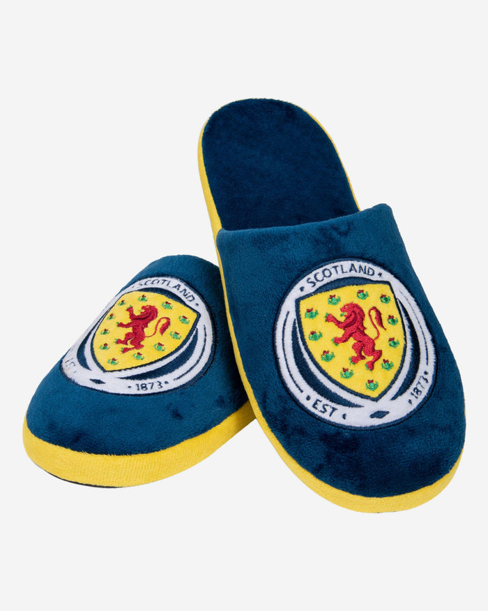 Scotland Split Colour Slide Slipper FOCO - FOCO.com | UK & IRE