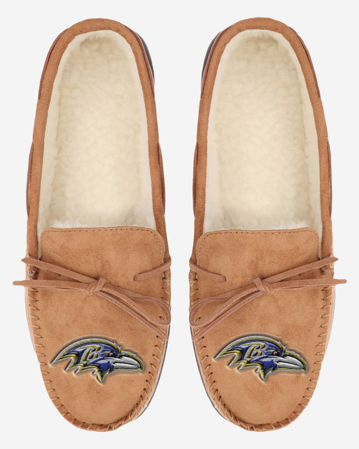 Baltimore Ravens Moccasin Slipper FOCO - FOCO.com | UK & IRE