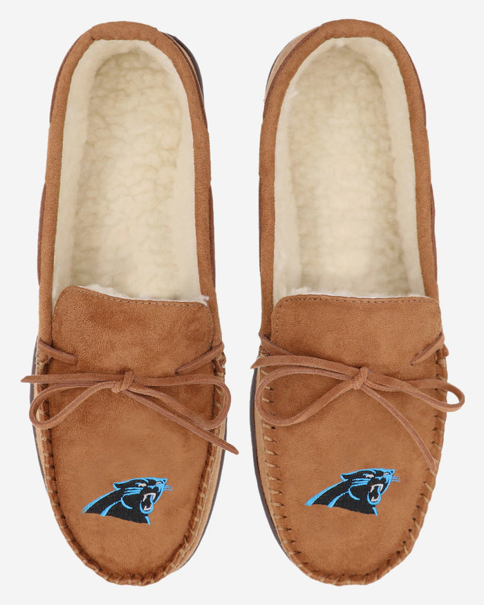 Carolina Panthers Moccasin Slipper FOCO - FOCO.com | UK & IRE