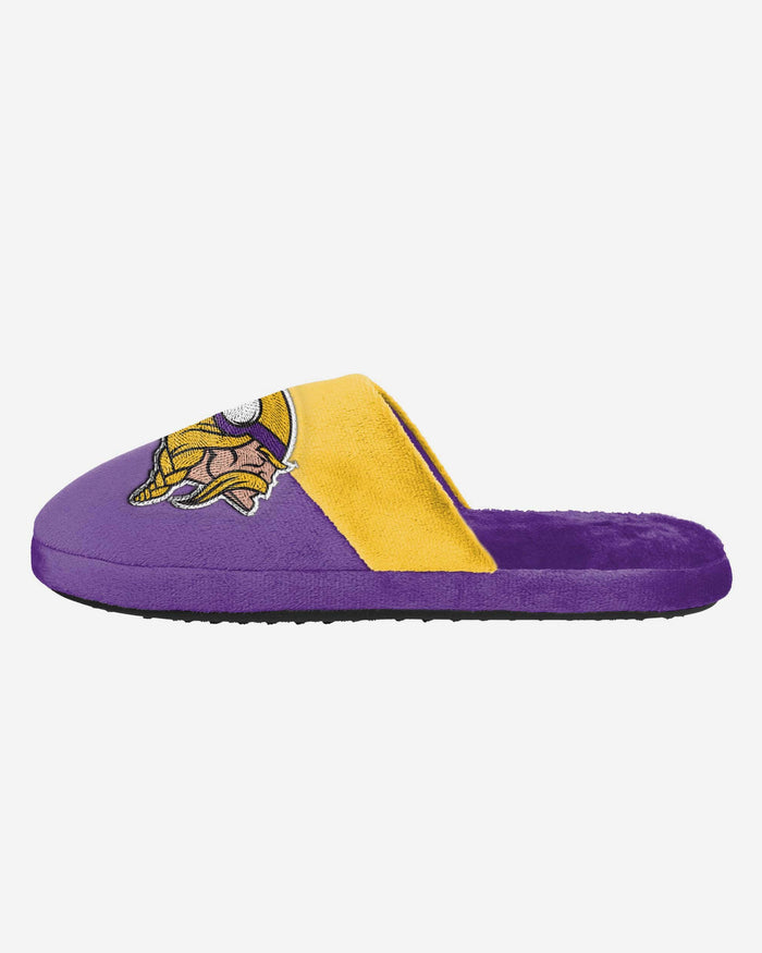 Minnesota Vikings Big Logo Slipper FOCO S - FOCO.com | UK & IRE