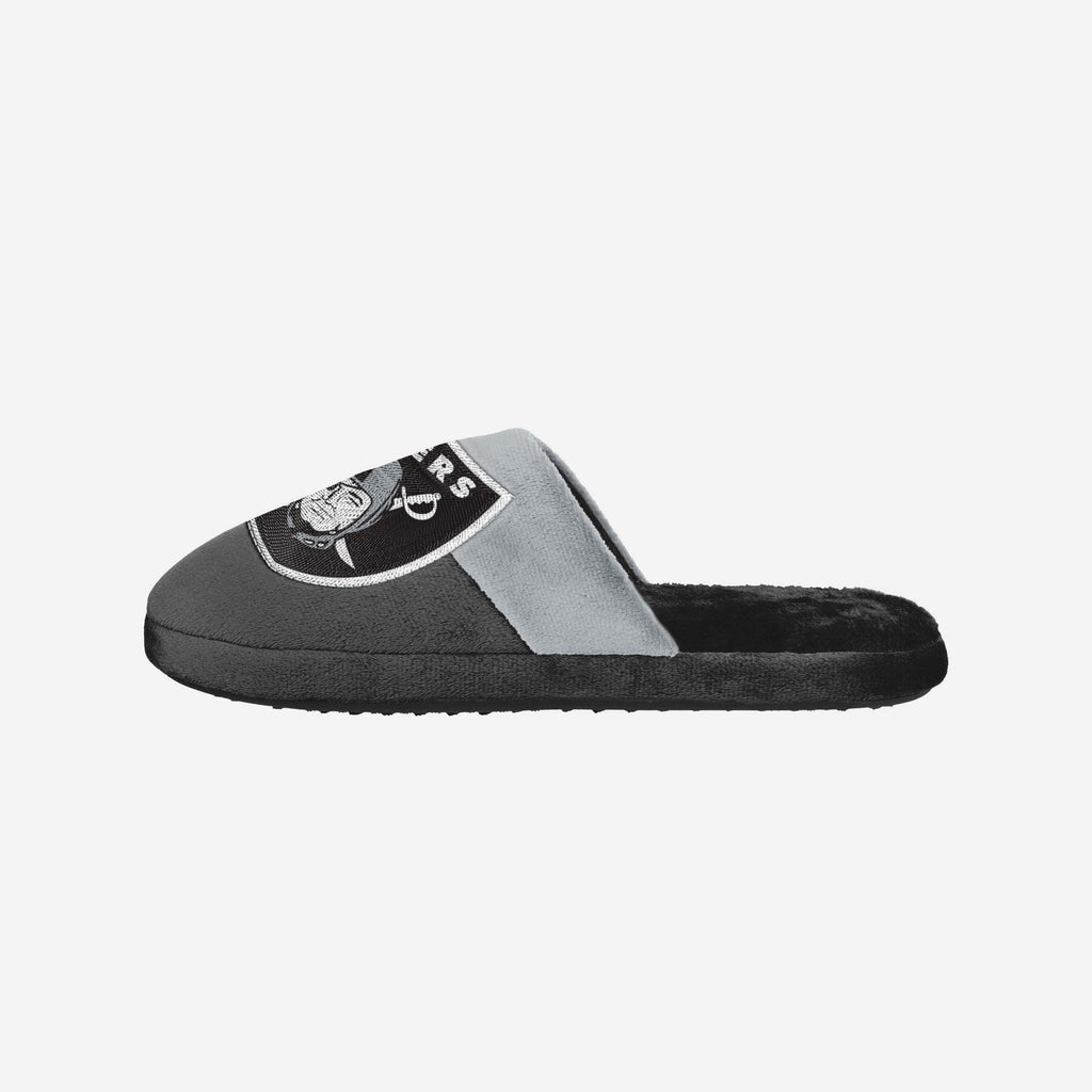 Las Vegas Raiders Big Logo Slipper FOCO S - FOCO.com | UK & IRE