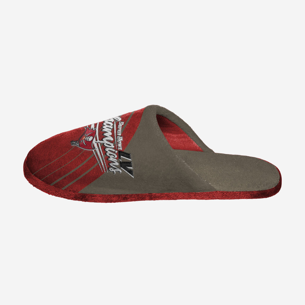 Tampa Bay Buccaneers Super Bowl LV Champions Slide Slipper FOCO S - FOCO.com | UK & IRE