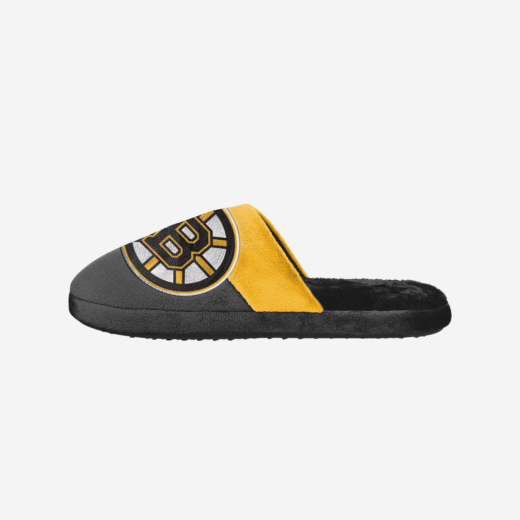 Boston Bruins Big Logo Slippers FOCO S - FOCO.com | UK & IRE
