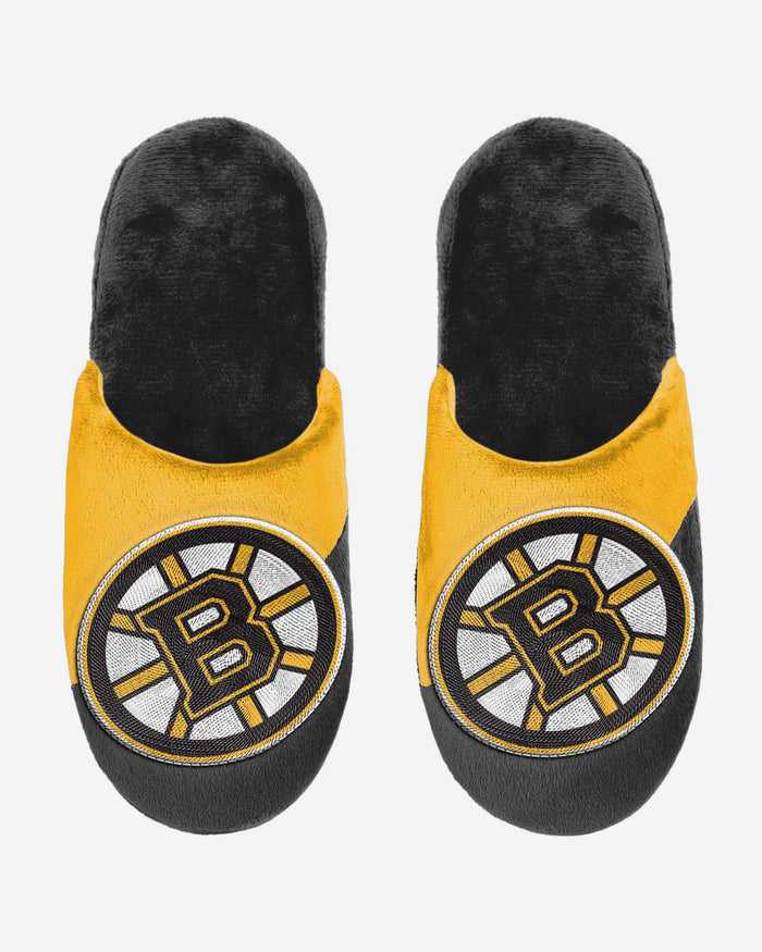 Boston Bruins Big Logo Slippers FOCO - FOCO.com | UK & IRE