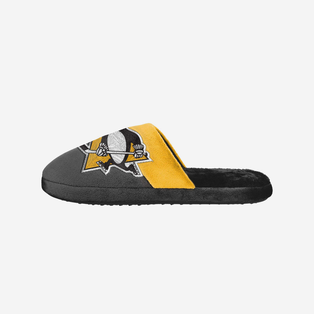 Pittsburgh Penguins Big Logo Slippers FOCO S - FOCO.com | UK & IRE