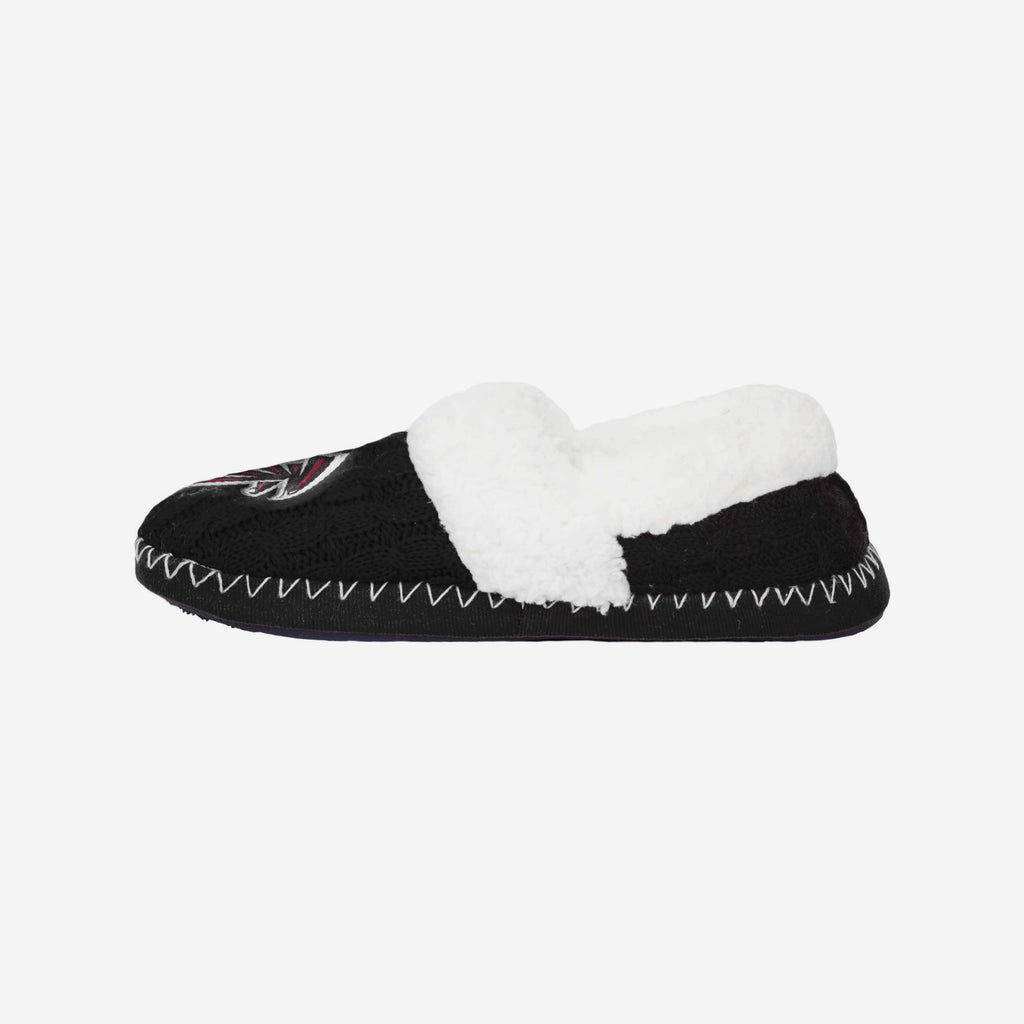 Atlanta Falcons Team Colour Moccasin Slipper FOCO S - FOCO.com | UK & IRE