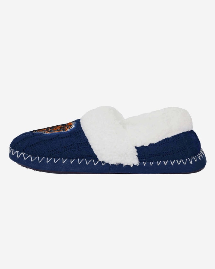 Chicago Bears Team Colour Moccasin Slipper FOCO S - FOCO.com | UK & IRE