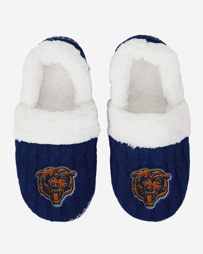 Chicago Bears Team Colour Moccasin Slipper FOCO - FOCO.com | UK & IRE