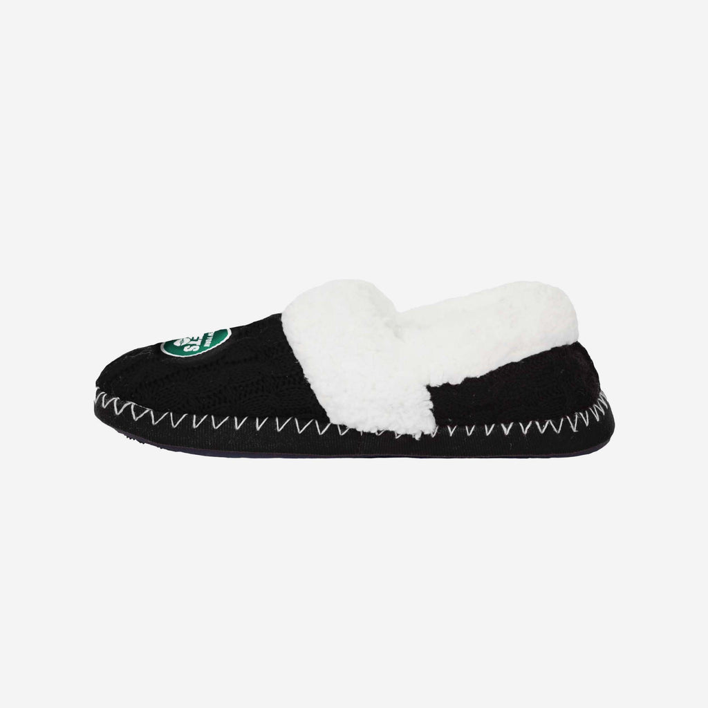 New York Jets Team Colour Moccasin Slipper FOCO S - FOCO.com | UK & IRE