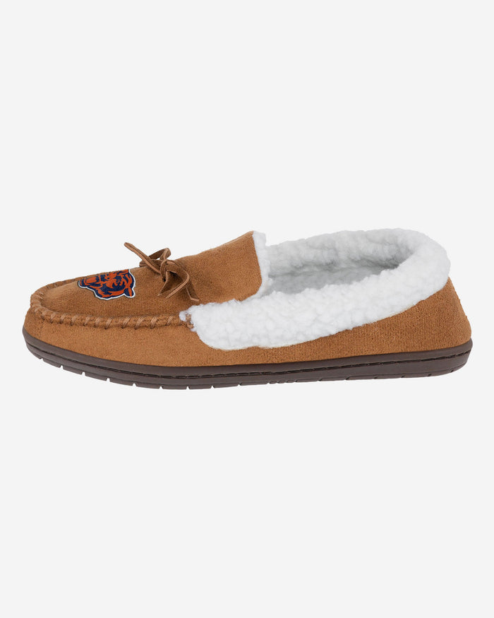 Chicago Bears Fur Closed Back Moccasin Slipper FOCO S - FOCO.com | UK & IRE