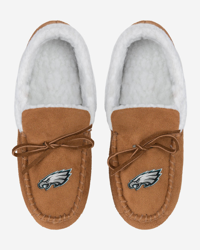 Philadelphia Eagles Fur Closed Back Moccasin Slipper FOCO - FOCO.com | UK & IRE