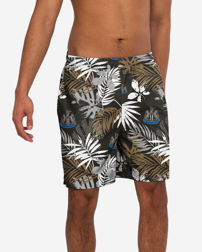 Newcastle United FC Floral Boardshorts FOCO S - FOCO.com | UK & IRE