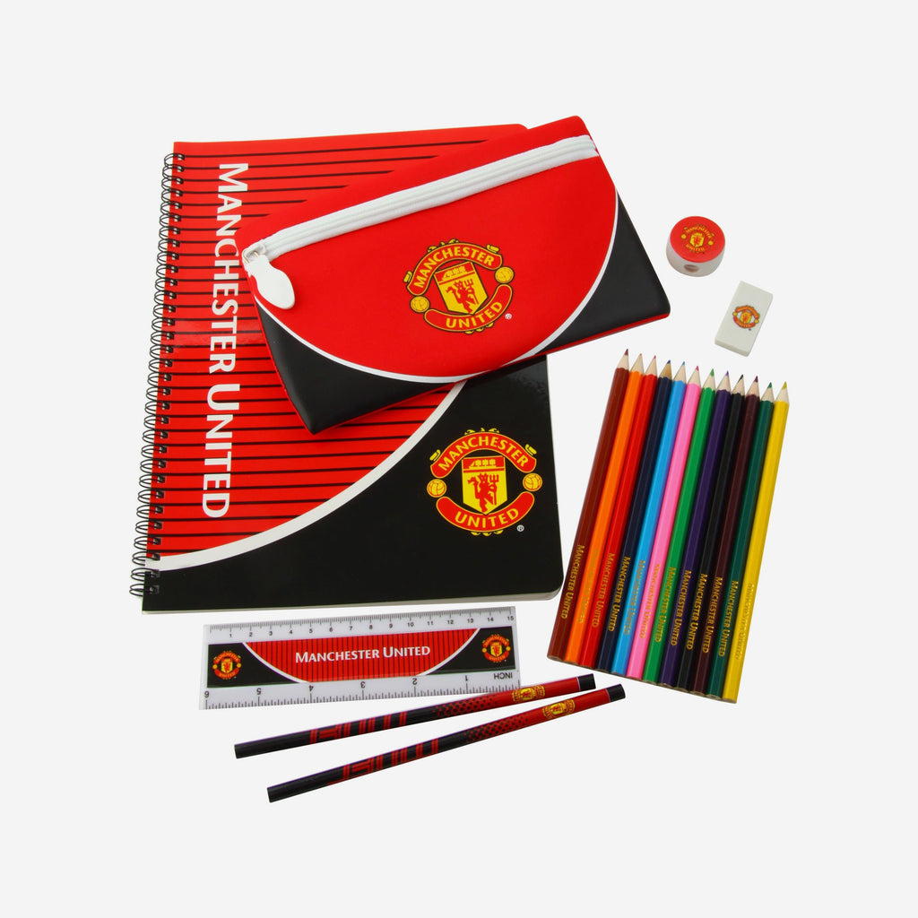 Manchester United FC Swoop Ultimate Stationery Set FOCO - FOCO.com | UK & IRE