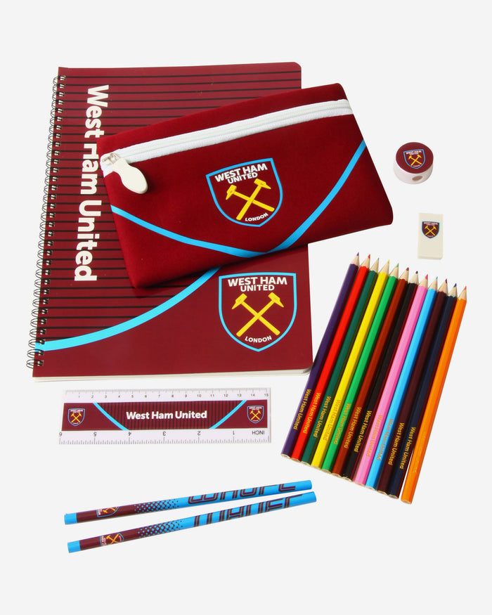 West Ham United FC Swoop Ultimate Stationery Set FOCO - FOCO.com | UK & IRE