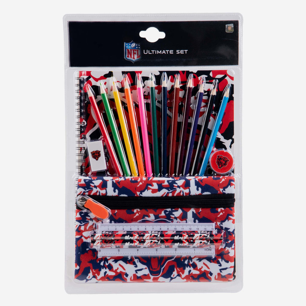 Chicago Bears Camouflage Stationery Set FOCO - FOCO.com | UK & IRE