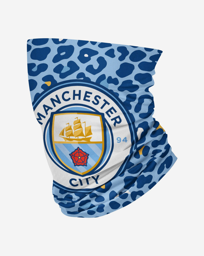 Manchester City FC Animal Print Snood Scarf FOCO - FOCO.com | UK & IRE