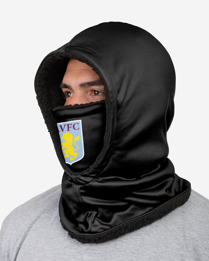 Aston Villa FC Black Hooded Snood FOCO - FOCO.com | UK & IRE