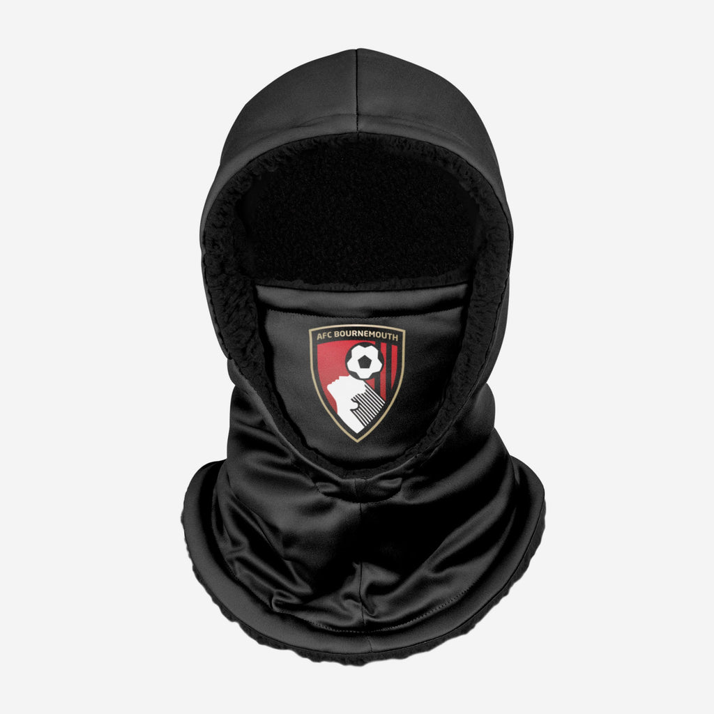AFC Bournemouth Black Hooded Snood FOCO - FOCO.com | UK & IRE