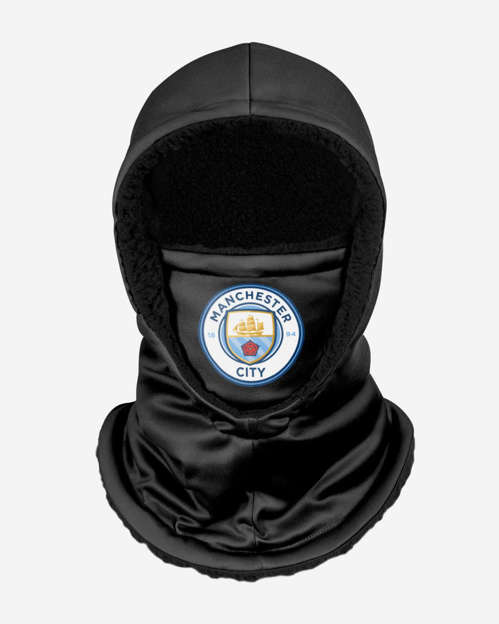 Manchester City FC Black Hooded Snood FOCO - FOCO.com | UK & IRE